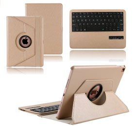 KVAGO Ultra Slim iPad Pro Rotating Stand Case With Keyboard