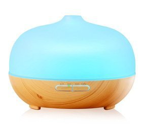 InnoGear Glass Essential Oil Diffuser With LED Lights