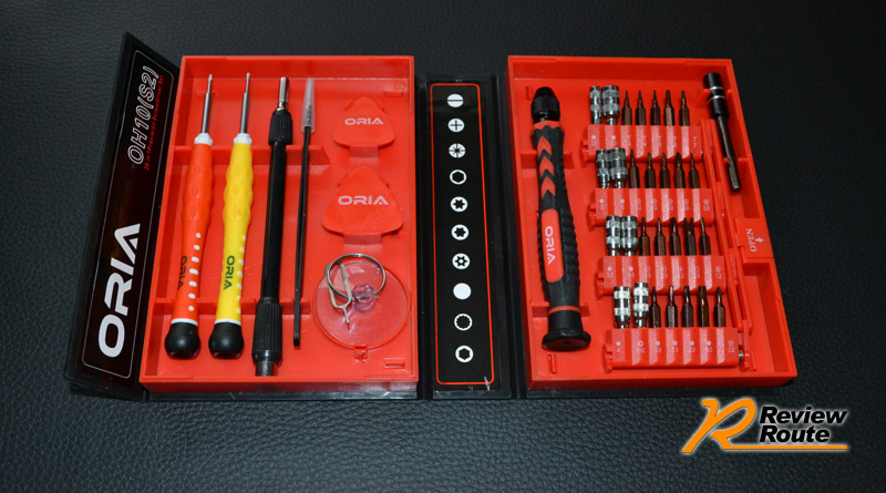 Oria 38 in 1 Precision Magnetic Screwdriver Set Repair Toolkit