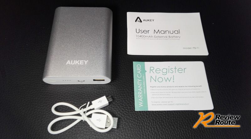 AUKEY Quick Charge 2.0 Portable Charger