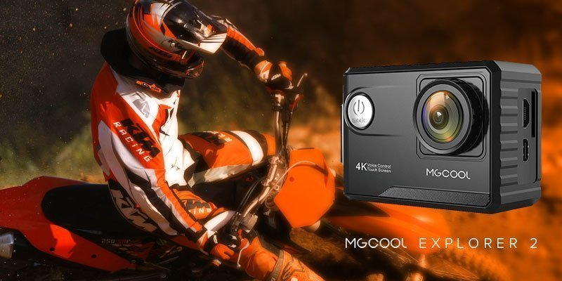 MGCool Explorer 2 - The Voice Controlled 4K H.265 recording Action Camera