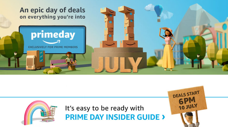 It's Official... Amazon Prime Day July 11th 2017