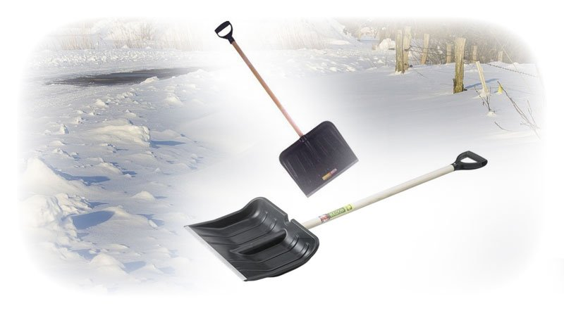 The best Snow Shovels to clear clear steps, driveways and walkways