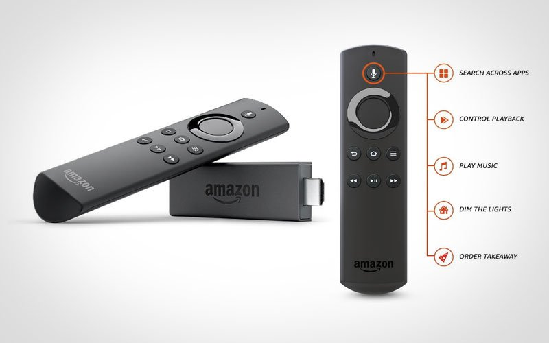 Fire TV Stick with Alexa Voice Remote Streaming Media Player