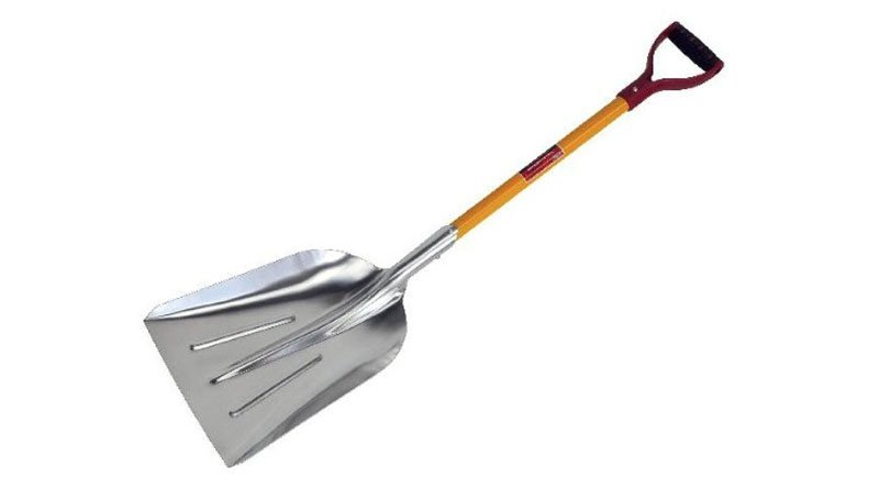 Neilsen Tools Aluminium Metal Snow Scoop Shovel