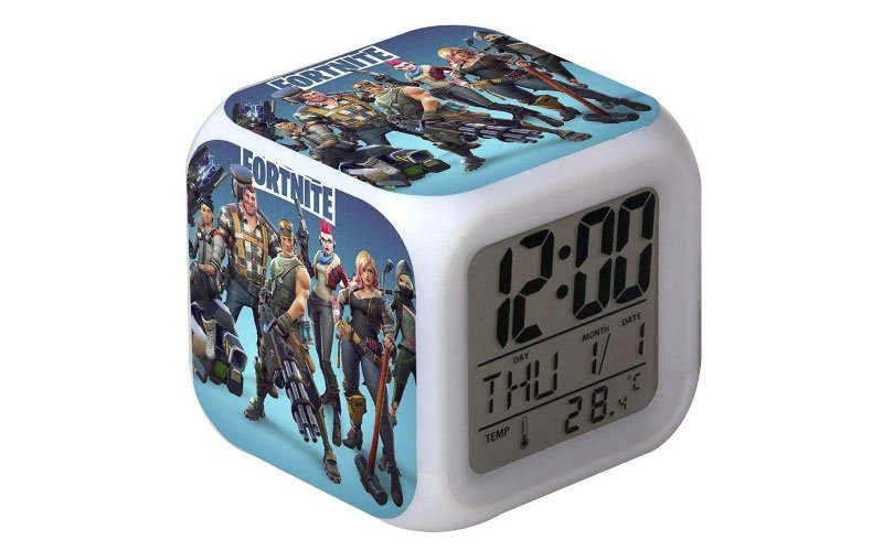 7 Colour LED Fortnite Digital Alarm Clock