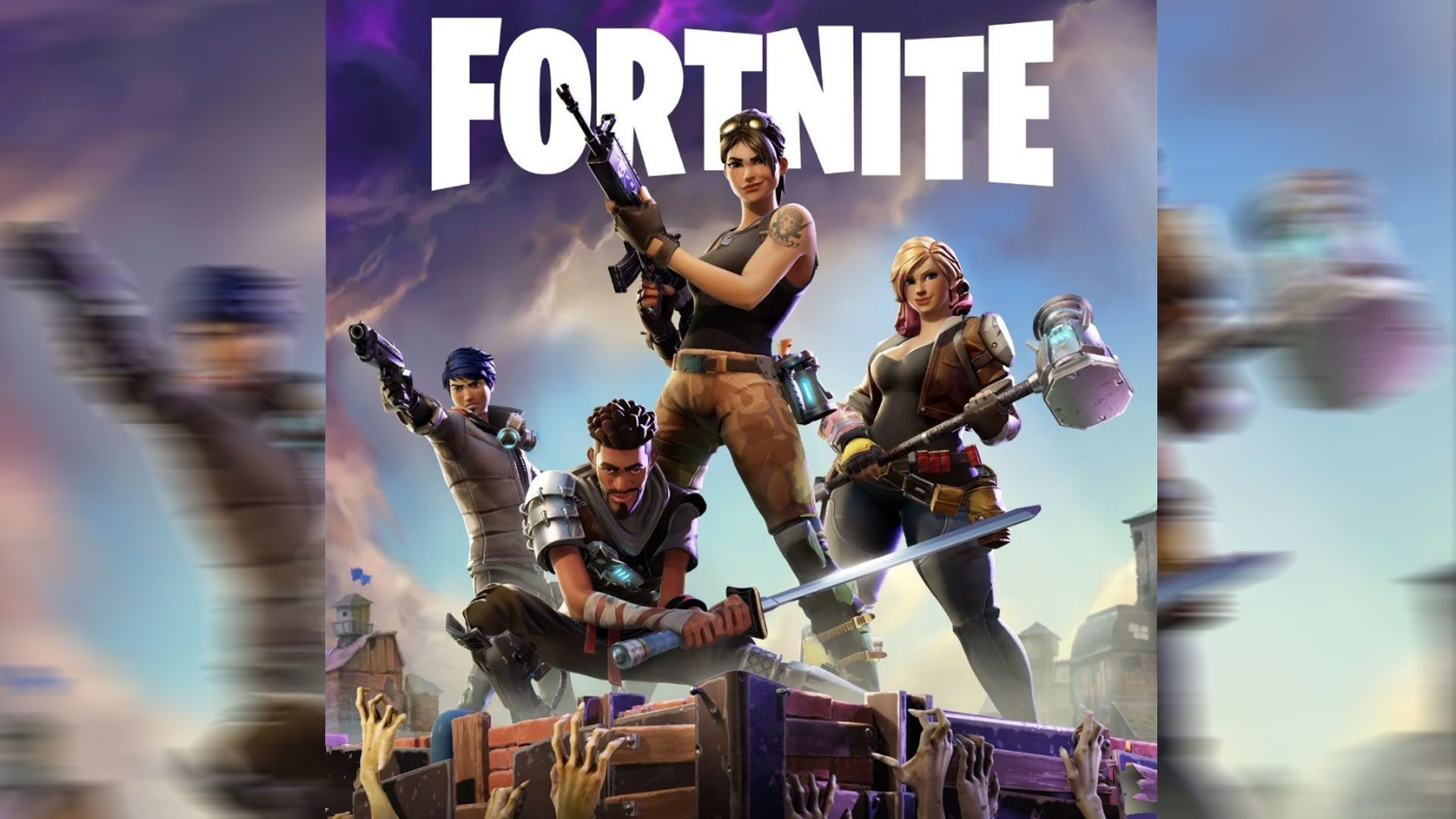 Fortnite - Epic Games - Xbox One, PlayStation 4,Macintosh,PC,Android,iPhone