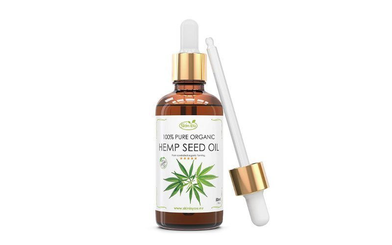 Skin is You Pure Organic Cold Pressed Hemp Seed Oil