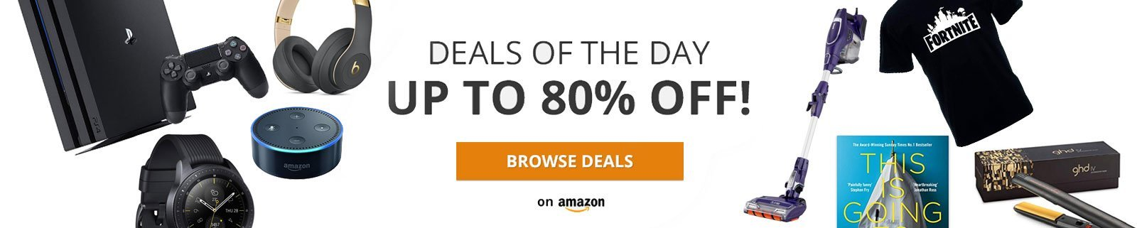 Deals of the Day - Lightning Deals - Today's Deals