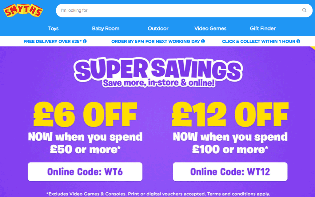 Super Savings At Smyths Toys In Store And Online