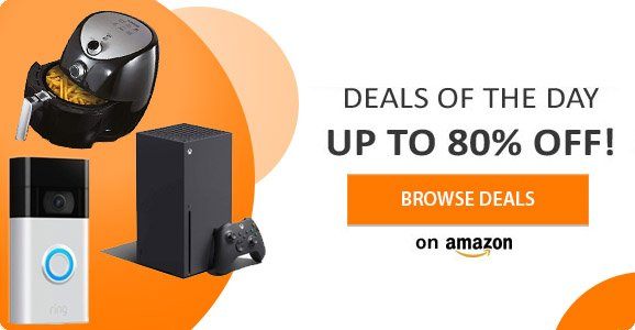 Deals of the day - up to 80% off