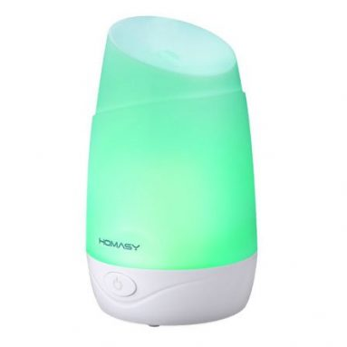 Homasy – Ultrasonic Humidifier Essential Oil Diffuser Review
