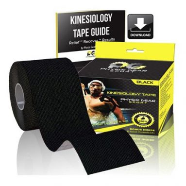 Kinesiology Tape With Free Ebooks & Exercise Bands