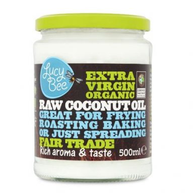 Lucy Bee Extra Virgin Raw Organic Coconut Oil Review